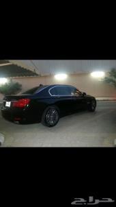 BMW 740li 2011 black