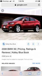 قطع غيار مستعملة BMW X6