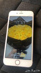 ايفون 6s سعة 64 جيجا اللون روز