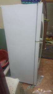 ثلاجة LG للبيع  واسطوانة غاز