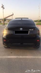 للبيع او البدل BMW بلاك ايديشن X6