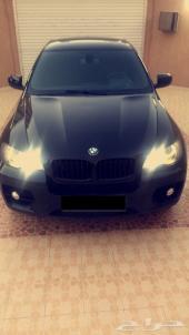 للبيع او البدل BMW X6 مميزه