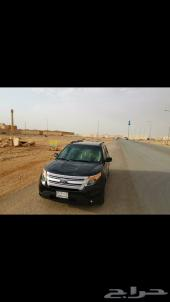 اكسبلور   2013سعودي بدي وكاله محركات ع الفحص