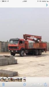 مصنع بلك خرساني وخرسانة جاهزة على مساحة كبيرة