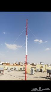تركيب اعمدة ابراج الاتصالات