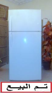 ثلاجة بابين كبيرة 20.2 قدم .. تم البيع