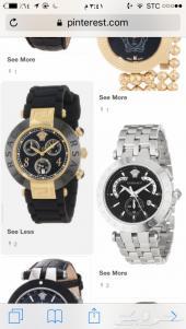 للبيع ساعة فندي وفيرزاتشي اصلية