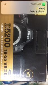 كاميرا نيكون احترافيه 5200D