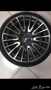 جنوط BMW الفئه السابعه اصلية مقاس 21