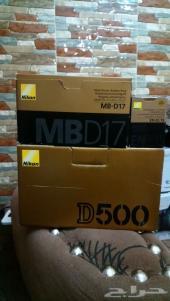 Nikon D500 (Body Only)  Nikon MB-D17 Grip