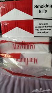 للبيع دخان مالبورو احمر سويسري  10 كروز