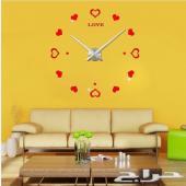 ميز بيتك بساعات حائط كبيرة ثلاثية الابعاد باشكال جميلة