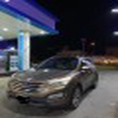 سياره سنتافي 2015 دبل 6سرنندل بانوراما