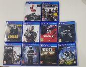 10 ألعاب PS4