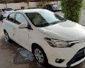 سيارة تويوتا ياريس للبيع موديل 2014