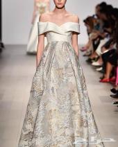 فستان سهرة او زفاف راقي فخم