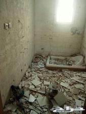 تكسير وتقشير الجدران السيراميك خرسانات ديكور