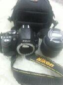 كاميرا نيكون D3100 احترافيه حد 650