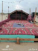 مخيم الرمال للايجار قبل الكبري الميت