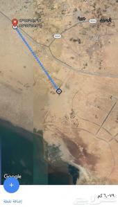 ارض في موقع مميز تبعد عن المطار الجديد 5كم