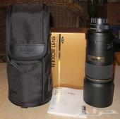 عدسة نيكون afs 300mm f4 ed للبيع او البدل