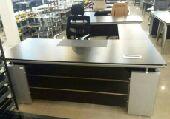 مكتب خشب ملامين ماليزي جديد مع تركيب وتوصيل