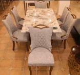 طاولة طعام رخام
