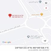 ارض للبيع في حي المونسية