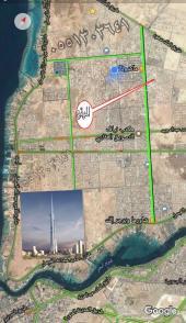 للبيع ارض في مخطط الأماني  شارع شمالي
