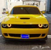 2015 دوج تشالنجر أصفر 6 سلندر بدي معدل هليكات