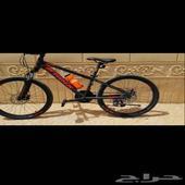 دراجة-سيكل مقاس 24 هجين اخت الجديد