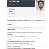 مندوب مبيعات هندي خبرة يبحث عن عمل