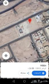 للبيع ارض في حي حطين (الموسى )