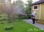 مكافحة حشرات جميع أنواع العوازل كشف تسربات