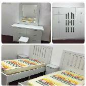 غرف نوم وطني مخفضة جديده السعر 1200