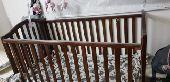 غرفة النوم  مجلس  غسالة و سرير اطفال للبيع