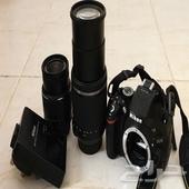 كاميرا إحترافيه نيكونd5200 (تم البيع)