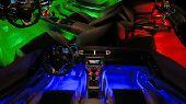 اضاءة داخلية نوع LED لكل انواع السيارات