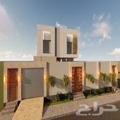 تصميم واجهة فيلا 3d السعودية