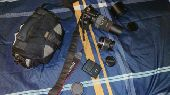 كاميرا كانون 550D مع عدسة سيجما اضافيه