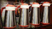 طقم ثلاجات شاي وقهوة من أربعة قطع ب 120 ريال
