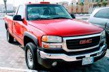 جمس 2005 أحمر 2500HD