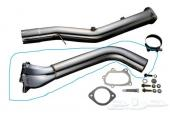 Turbo downpipe and up pipe for sti