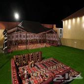 شاليه مع مخيم مميز في الحرازات