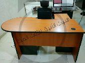 مكتب مع سكرتيرياوادراج مقاس 160جديدبالكرتون