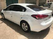 سيارة كيا سيراتوموديل 2017 للتنازل
