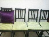 طاولة  مع 2 كراسي من ايكيا  150 ريال