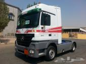 شاحنة مرسيدس اكتروس موديل 2006 الحجم 1844