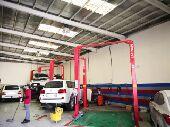 تجهيز مراكز صيانه السيارات
