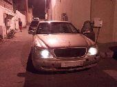 مرسيدس فياجرا 2002اللون ذهبي s320